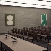 Rénovation salle de conférence Bruxelles